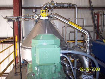 Control Solutions for Centrifuge Based Corn Oil Extraction, Houston, Irving, Singapore, Mexico City, Rio de Janeiro, London
